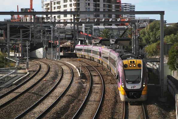 VLocity VL07 and classmate on the down at Footscray