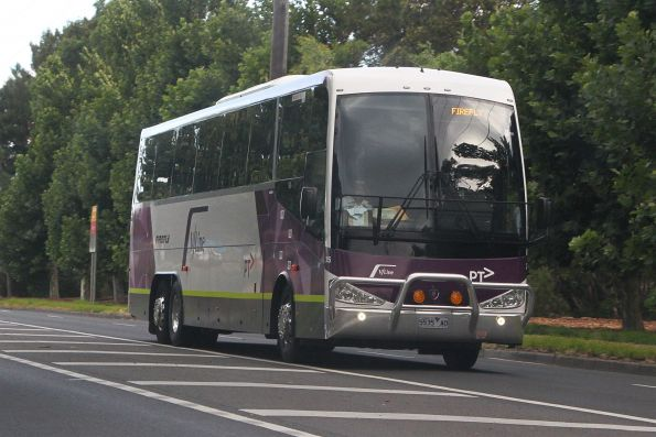 Firefly coach #35 5535AO on Dynon Road, West Melbourne