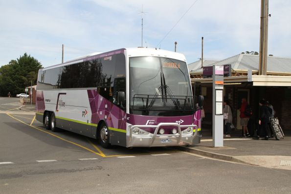 Firefly coach #45 5545AO on a Dimboola service at Ararat station