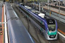 Newly delivered VLocity VL35 at Southern Cross
