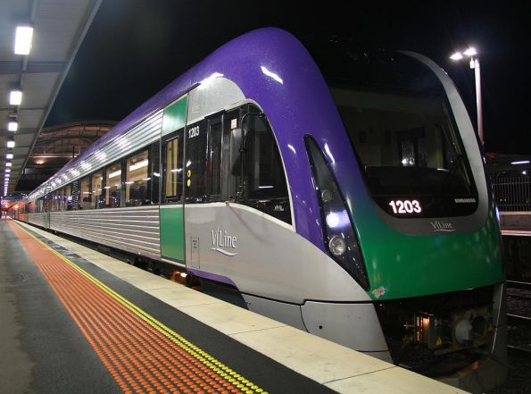 5x VL units sitting at Southern Cross