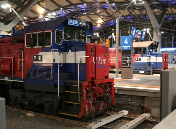P16 and P11 at Southern Cross