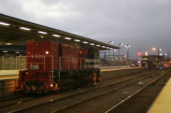Y156 on the move at Southern Cross