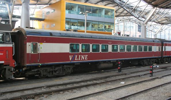 Carriage BCZ259 back in service at Southern Cross, now with power doors