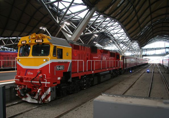 N461 arrived at Southern Cross