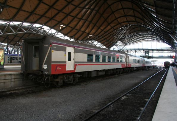Refurbished carset VN17 with only 3 cars