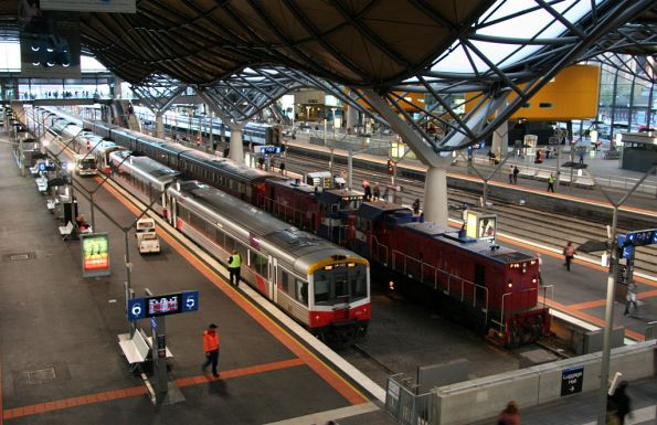 P14 and P13 on arrival at Southern Cross