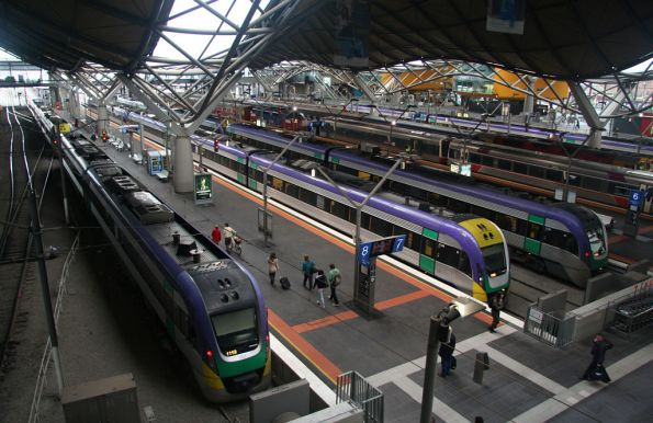 All platforms taken at Southern Cross