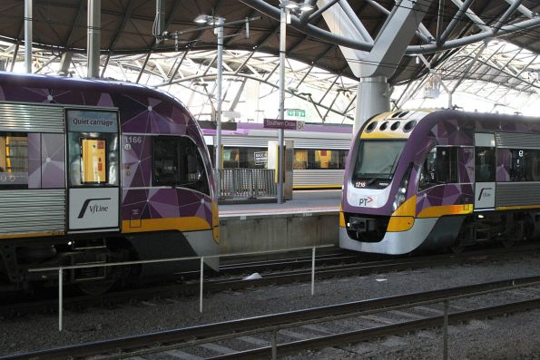 VLocity VL66 and VL16 at Southern Cross platform 8