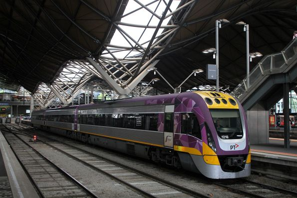 VLocity VL16 at Southern Cross platform 7