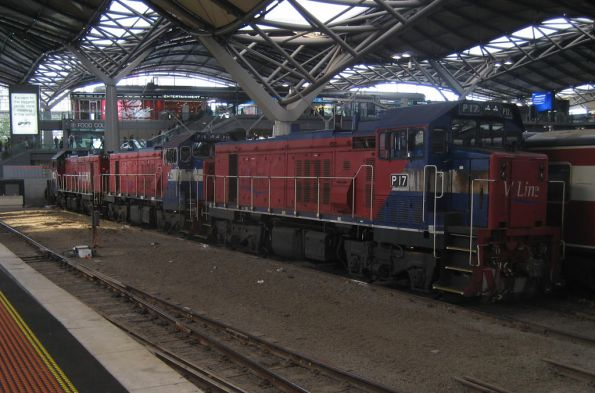 P17, P16 and P15 at Southern Cross
