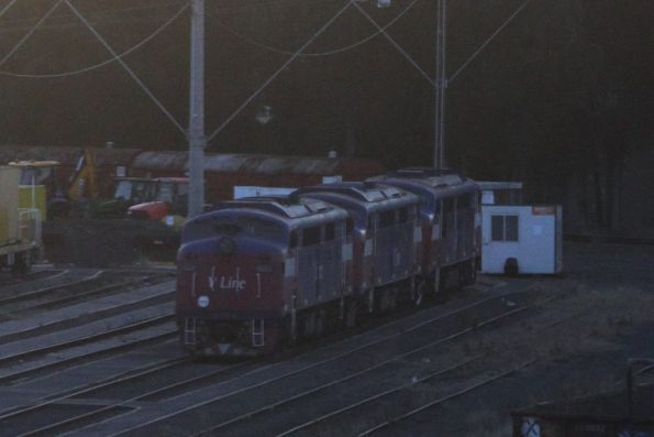 A60, A62 and A70 in long term storage at the Wagon Storage Yard