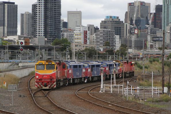 V/Line stored locomotives