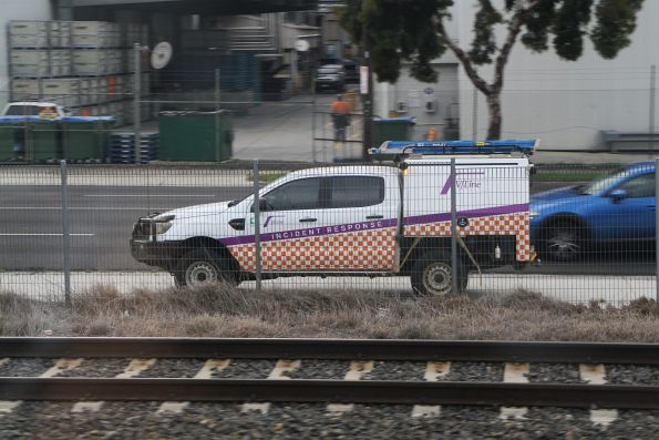 V/Line 'Incident Response' truck for signal fitters at West Footscray