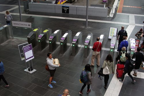 Ticket gates open at Southern Cross due to free travel for V/Line passengers