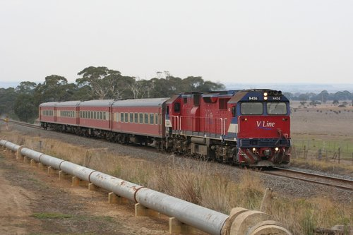 N456 on a down Warrnambool, at Grovedale