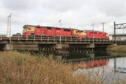 N458 and A66 depart South Dynon bound for Southern Cross
