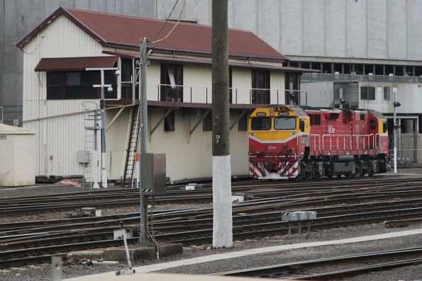 N453 stabled in the standard gauge motorail dock at Southern Cross