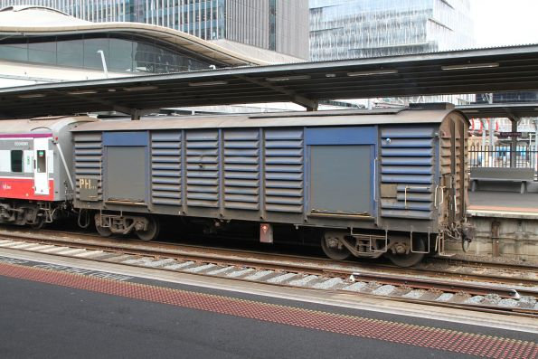 Power van PH451 attached to a train at Southern Cross