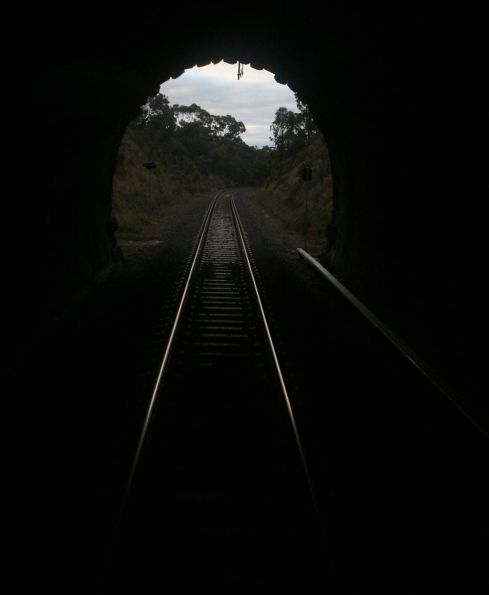 Passing through Big Hill tunnel