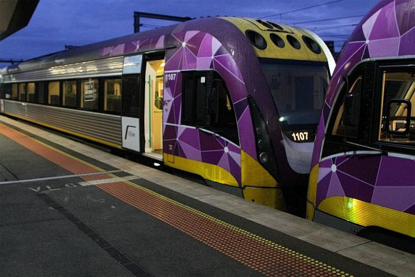 V/Line - 9-car VLocity train testing