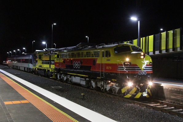 VLocity transfer to Bendigo, November 2014
