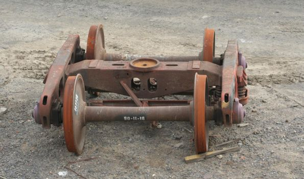 Broad gauge bogie frame with SG wheelsets