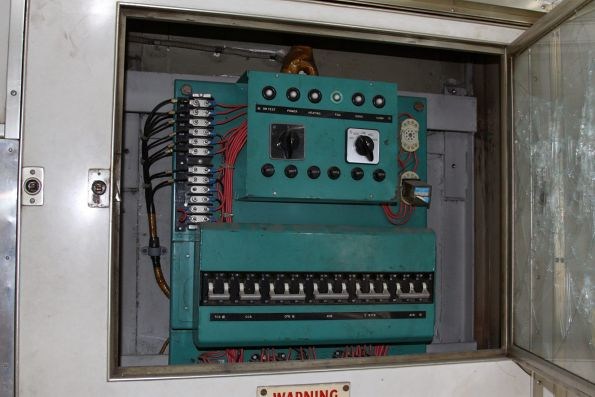 Electrical cabinet of Wegmann carriage OWA91