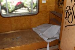 Sleeping compartment inside Wegmann carriage OWA91