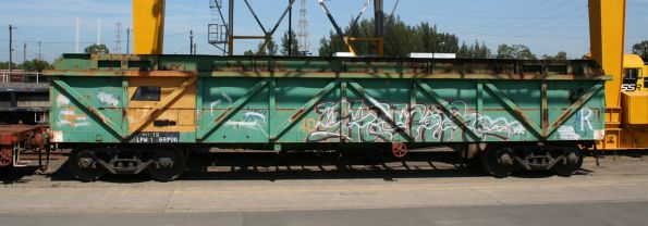 Open wagon AOKF 1061 at the Creek Siding, now El Zorro owned
