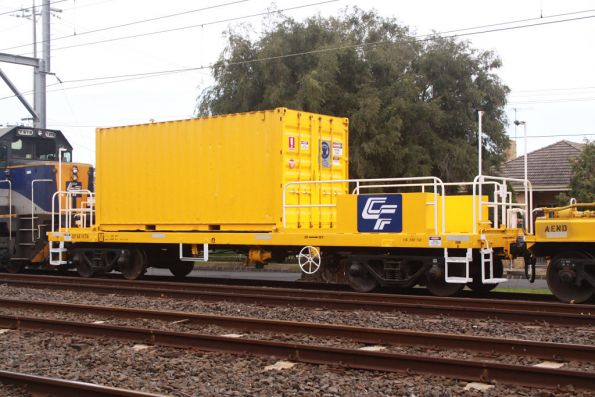 The other side of generator wagon CFSX 125G