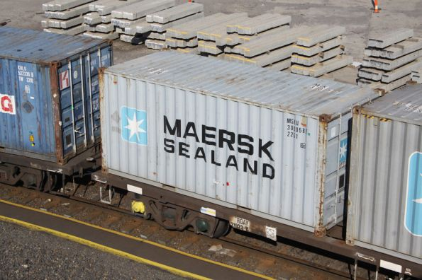 Maersk Sealand 20 footer