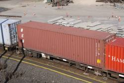 UES Intermodal container, 40 footer