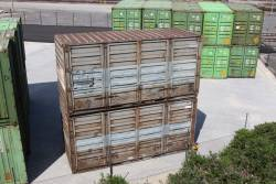 Ex-V/Line RCS 20 foot containers, now with Sadleirs