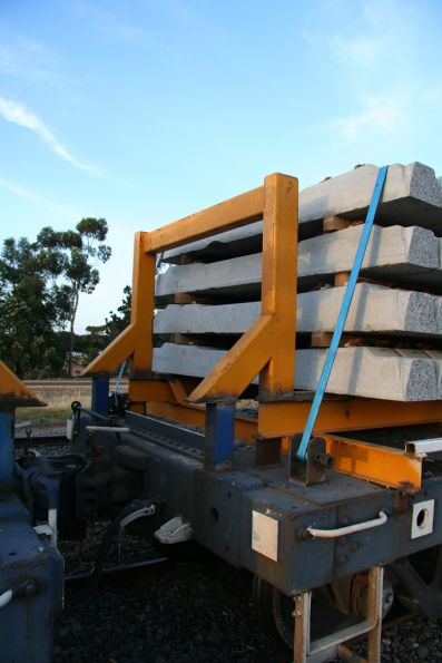CQCY concrete sleeper flats