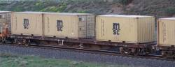 El Zorro flats - Mineral sands train