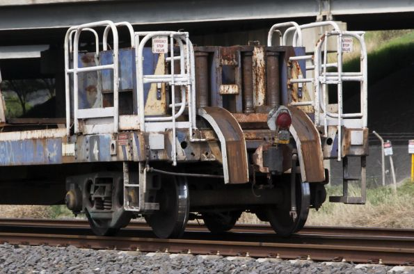 Rail discharge equipment at the end of NDRF 1951L