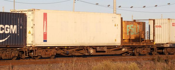 CQBY 0103Q, with a containerised genset