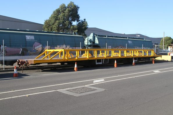 Newly converted RCAY wagons at the A.R. Ball Rolling Stock yard at North Dynon