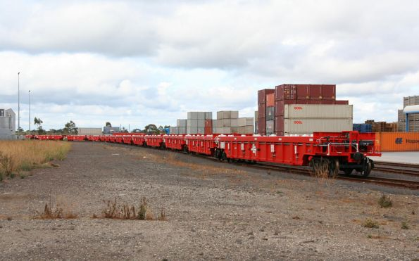 New SCT PWWY well wagons stored at CRT Altona