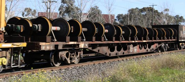 Unknown RZXY with new wheelsets, eastbound for Melbourne