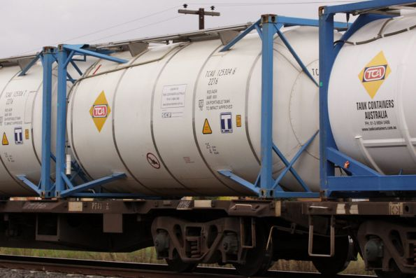 A number of Tank Containers Australia units