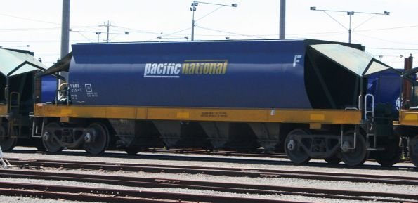 VHQF 215T at North Geelong Yard