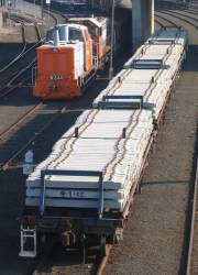 ZDXF wagons of unknown parentage at Melbourne Yard