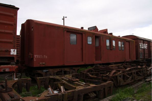 ZF guards van stored at SRHC Seymour