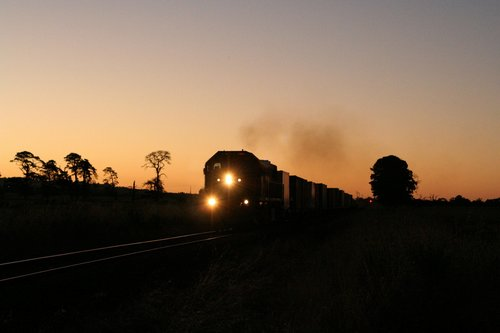 The pass has gone, and X49 is powering out of Camperdown