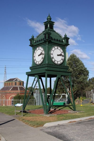 The 'Water Tower Clock' that once lived at Flinders Street Station