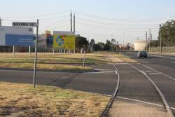 North along Todd Road at Wirraway Drive