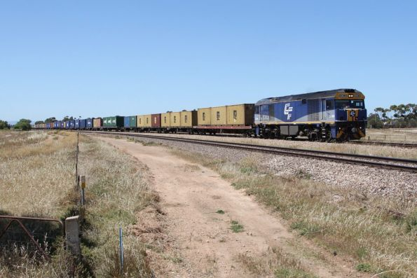 GL108 leads the westbound Balco service through Two Wells