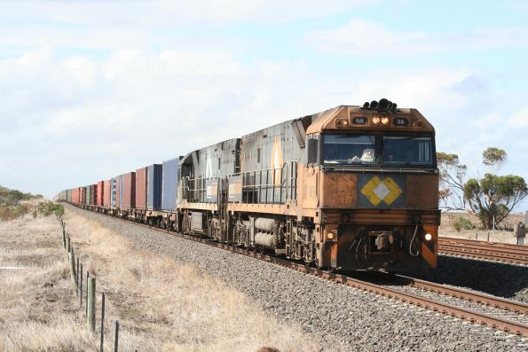 NR36-NR Adelaide bound at Little River